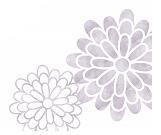 菊の波イラスト