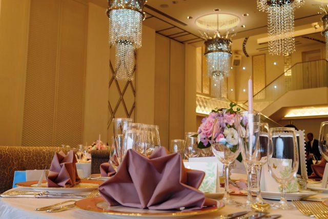 結婚式披露宴会場の画像